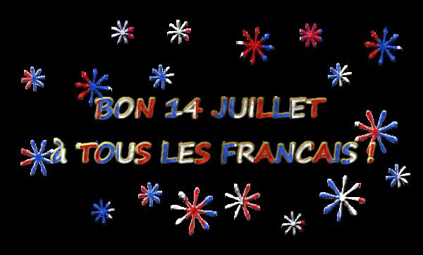 bannière bon 14 juillet à tous les français