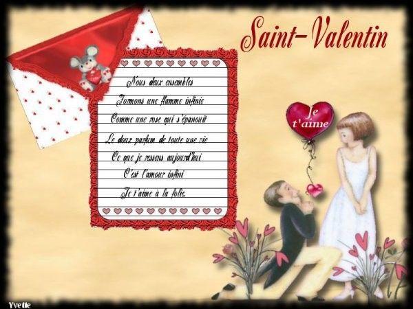 Saint valentin page 3 - Poeme d amour pour la saint valentin ...