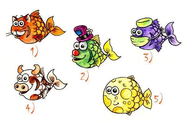 Les philosophies de kanni page 49 - Dessin poisson d avril rigolo ...
