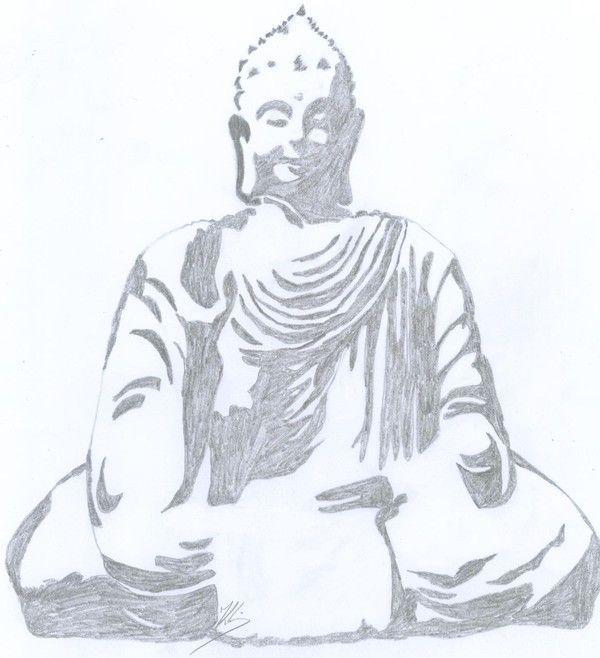 dessin de bouddha