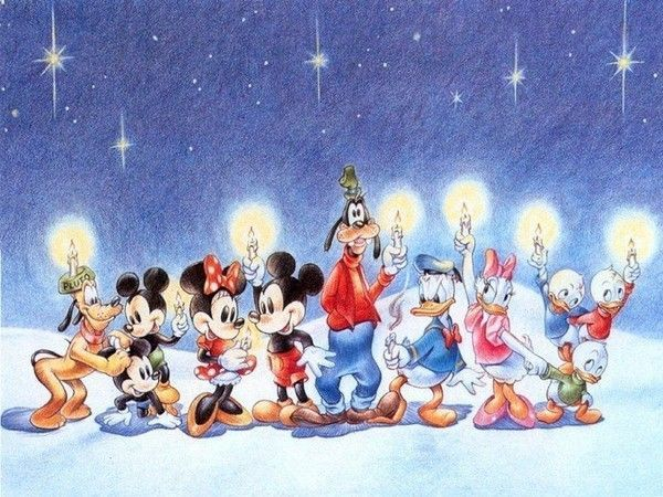 Noel avec heros disney - Le noel de pluto ...