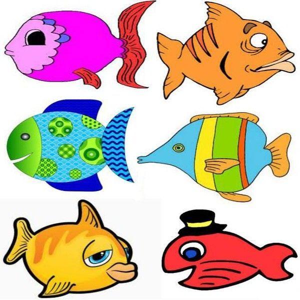 Jolis poissons d 39 avril d couper - Poisson a imprimer gratuitement ...