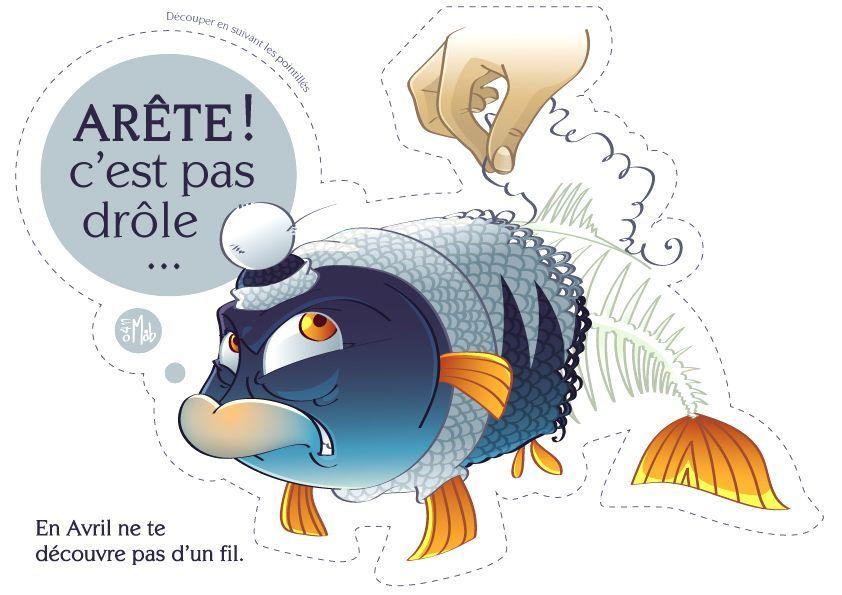 Poisson d 39 avril humoristique - Dessin poisson d avril rigolo ...