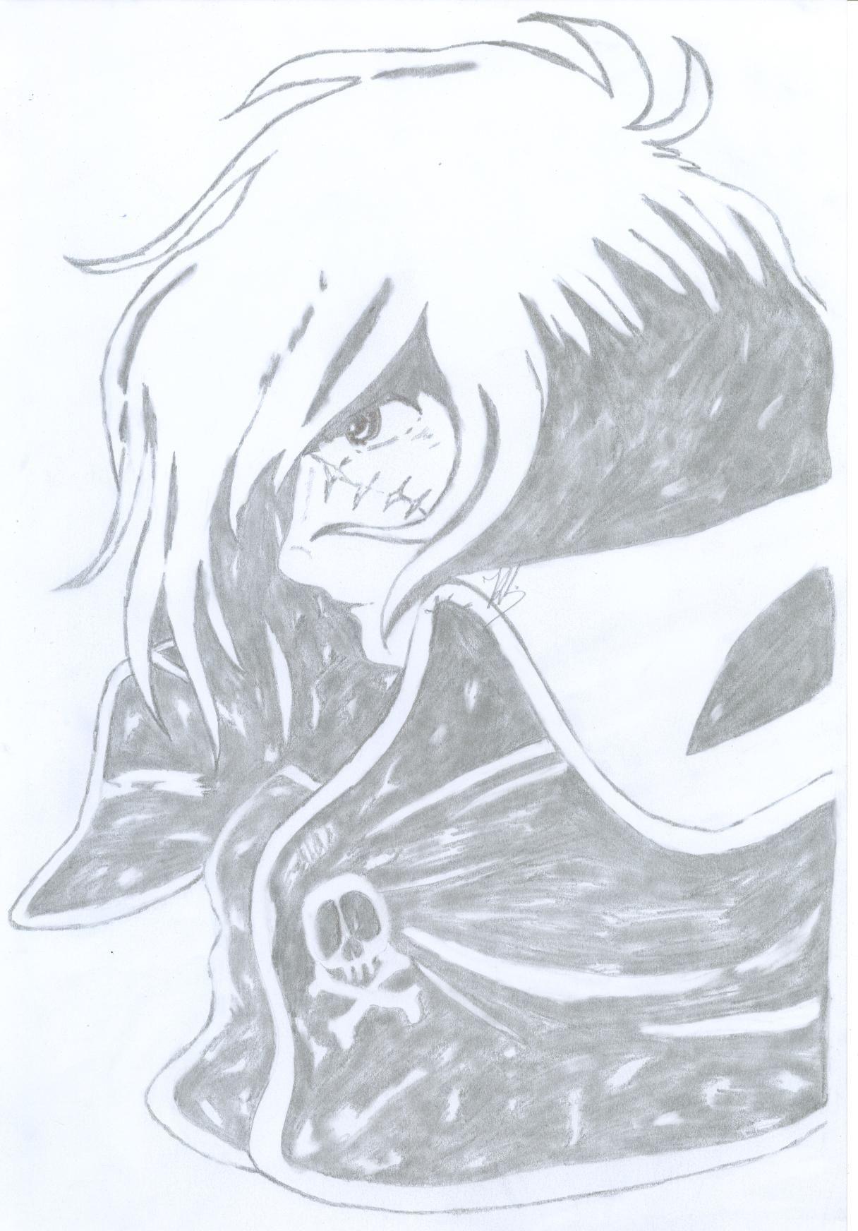 Dessins de heros dessins animes - Coloriage albator ...